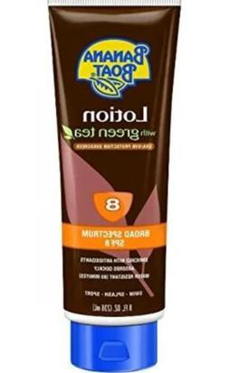 Banana Boat Deep Tanning Lotion with Green Tea Spf 8, 8-Ounc