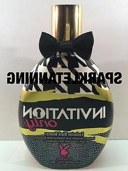 Invitation Only Black Bronzer Tanning Lotion By Playboy 13.5
