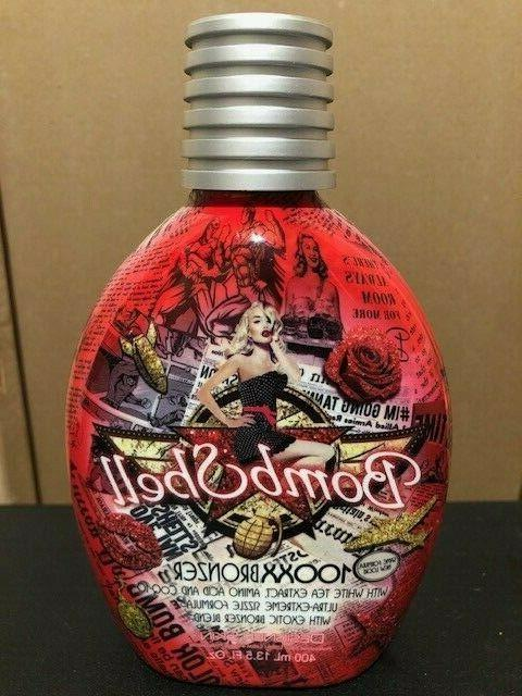 bombshell 100xx bronzer tingle tanning lotion free