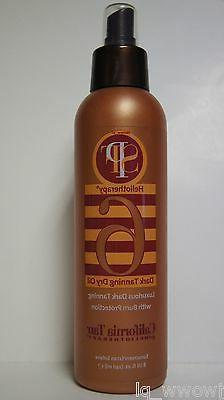 California Tan Heliotherapy SPF 6 Sunscreen Dry Oil Spray Bu