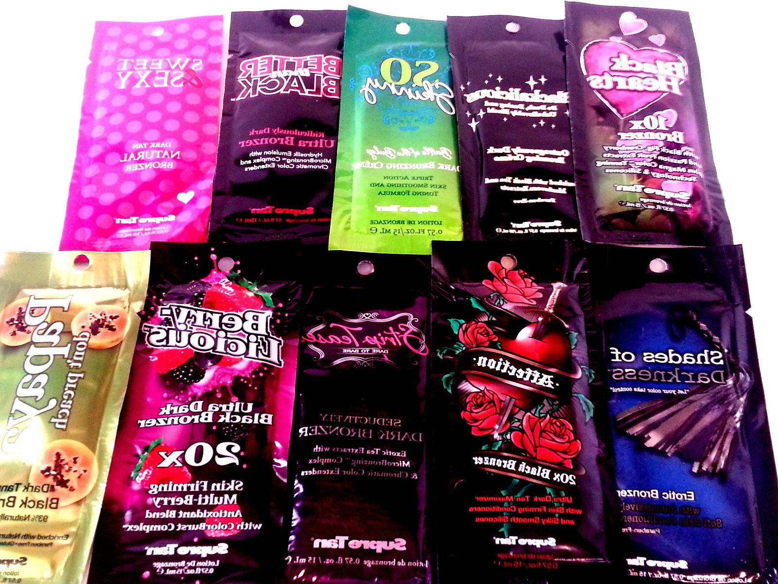Supre Indoor lotion Packets *Lot 50*