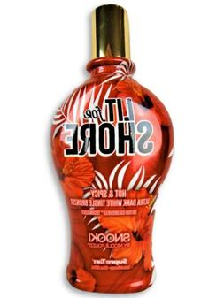Snooki LIT FOR SHORE Hot & Spicy Tingle Bronzer Tanning Bed