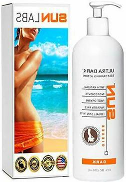 Self Tanning Lotion Ultra Dark 8oz By Sun Labs NEW FRESH fro