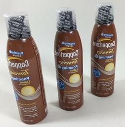 Coppertone Tanning Foaming Lotion Sunscreen SPF 15 UVA/UVB P